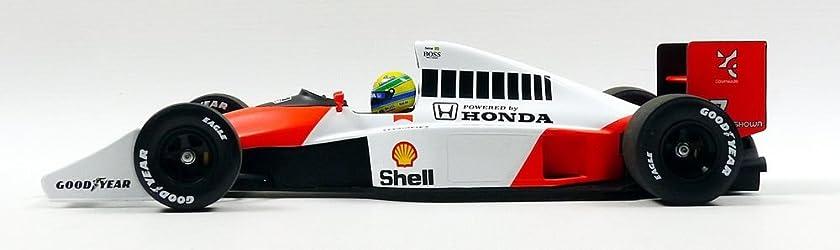 ミニチャンプス 1/18 マクラーレンホンダMP4-5B 1990 F1ワールドチャンピオン #27 A.セナ