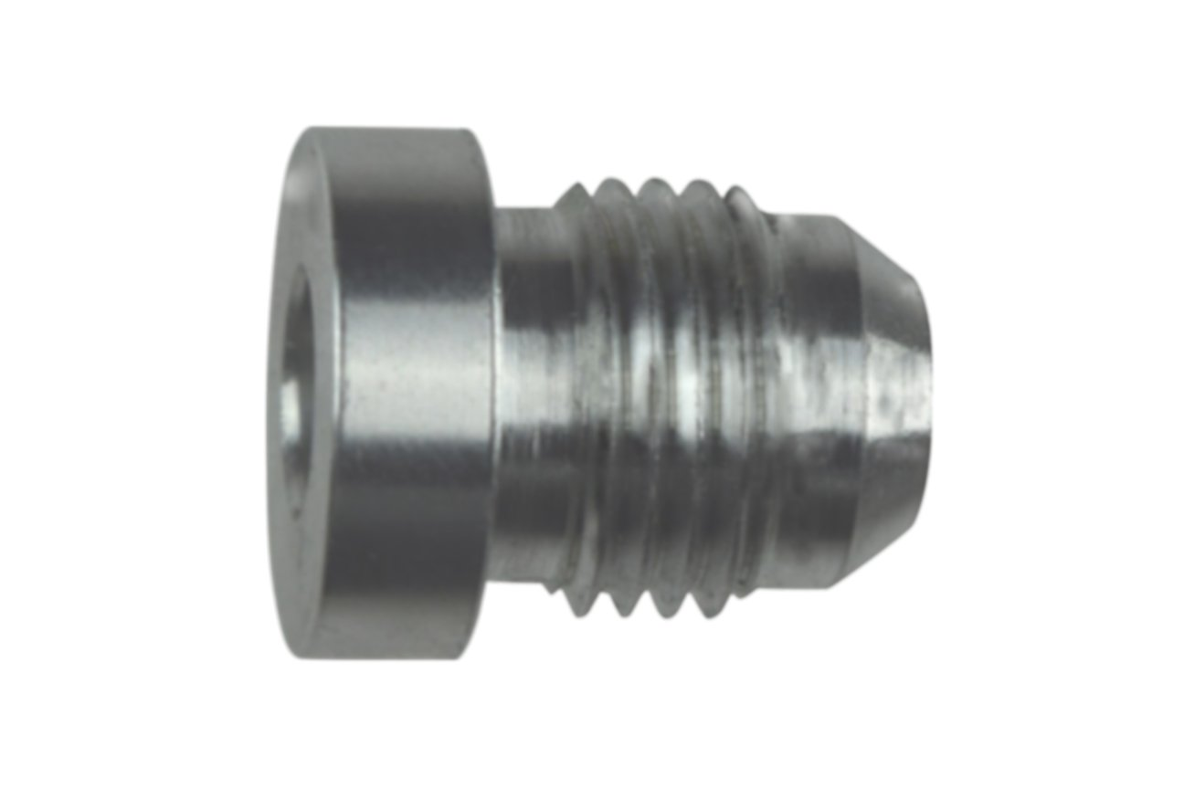 6ANBUNGSS 6AN Male Weld Bung Fitting 6AN Bare Aluminum