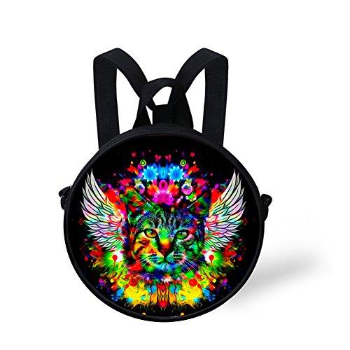 Shoulder FashionPaint W8cca4565i for Bag Women Bag Print Round Amazing Round xrT1wx0a