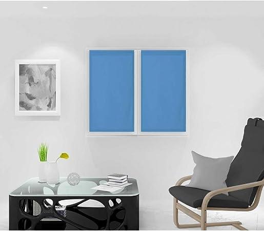 Soleil docre 042552 Dolly Paire de Brise Bise Polyester Bleu 45x90 cm