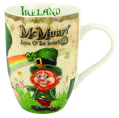 Irish Leprechaun Designed Tulip Mug ()