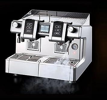 Molinos Modo CAFETERA DE CÁPSULAS Profesionales ELECTRÓNICA 2 Grupos Modelo Priscilla con Display Publicidad Y Ajuste Bebidas para CAFÉ Solo Y Vaso Alto: ...
