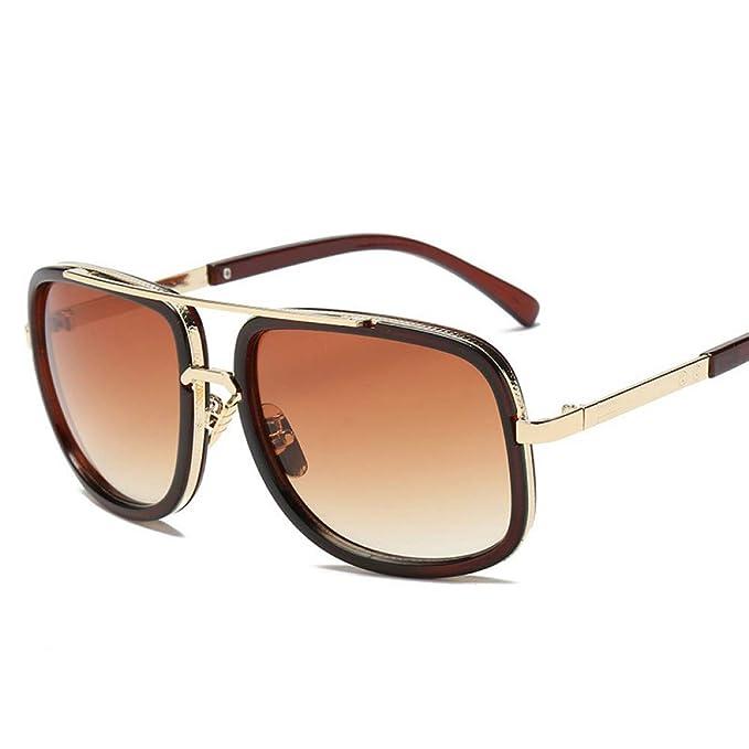 CCMOO 2018 Nueva moda gafas de sol grandes del marco de los ...