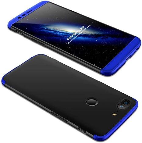 Funda OnePlus 5T 360 Grados Azul Negro Ultra Delgado Todo Incluido ...