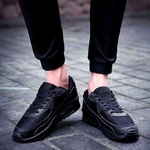Pareja Negro Zapatillas Zapatillas Estudiante Casuales Viaje de Zapatos Zapatillas Ocasionale Lunaanco de de para Informales Zapatos Aire Deporte 8IUq4U