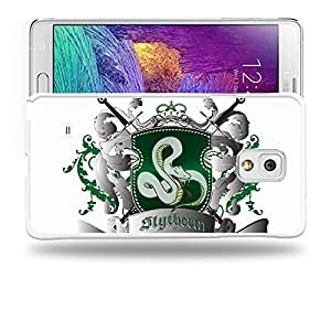 Case88 Designs Harry Potter & Hogwarts Collections Hogwarts Slytherin Sigil Protective Snap-on Hard Back Case Cover for Samsung Galaxy Note 4Kimberly Kurzendoerfer