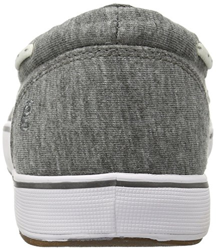 Grasshoppers Damen Windham Slip-On Flat Holzkohle