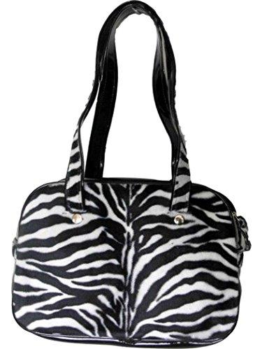 Webpelz Handtasche Zebra