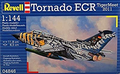 Revell Tornado ECR Tigermeet 2011 Aircraft Plastic Model Kit by Revell