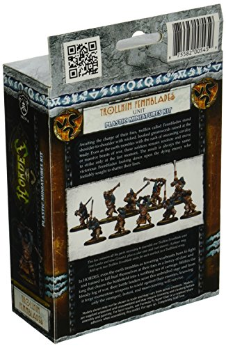 Privateer Press - Hordes - Trollblood: Fennblades (Plastic) Model Kit 4