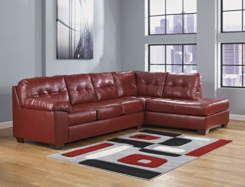- Ashley Furniture Industries, Alliston sectional 2pc Includes, (1 LAF Sofa, 1 RAF Corner Chaise)