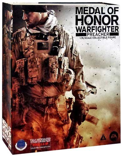 Caltek Medal of Honor Warfighter Preacher Collectible Figure, Scale 1:6