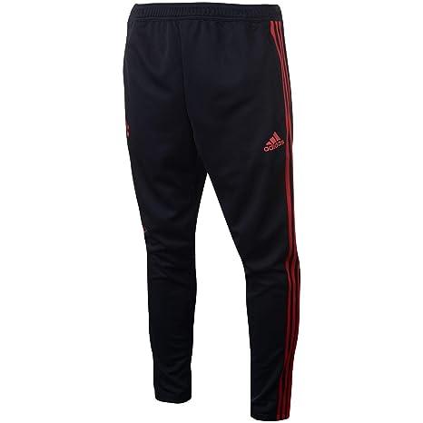 b795e2c35f0c9 Amazon.com : adidas 2018-2019 Man Utd Training Pants (Black) : Clothing