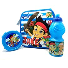 Jake and the Neverland Pirates Insulated Lunch Bag Set Disney
