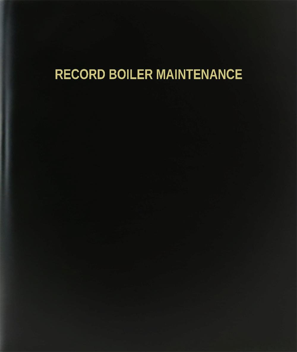 BookFactory ®レコードボイラーメンテナンス/日記/ログブック – 120ページ、8.5