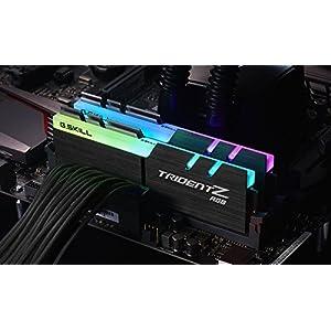 G.SKILL F4-3000C16D-16GTZR Trident Z RGB Series 16GB, 288-Pin SDRAM DDR4-3000Mhz (PC4 24000) Desktop Memory