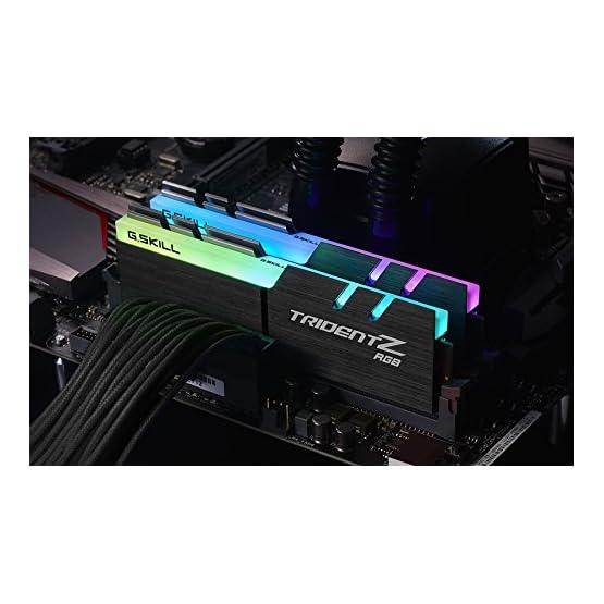 G.SKILL F4-3000C16D-16GTZR Trident Z RGB Series 16GB, 288-Pin SDRAM DDR4-3000Mhz (PC4 24000) Desktop Memory 51jA4EbSBbL. SS555