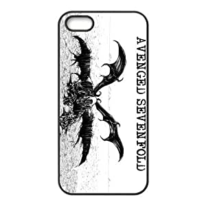 Protective PC PC Coated Phone Case for iPhone 5S / iPhone 5 - A7X Avenged Sevenfold