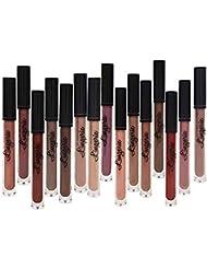 Matte Liquid Lipstick Pen, Spdoo 15 Nude Colors Long...