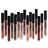 Matte Liquid Lipstick Pen, Spdoo 15 Nude Colors Long Lasting Lip Gloss Set