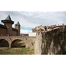 LAMINATED POSTER France Medieval Fortress Castle Carcasone Poster Print 24 x 36
