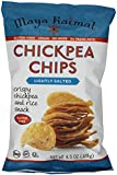 Maya Kaimal Chickpea Chips, Lightly Salted, 4.5 Ounce (Pack of 12)