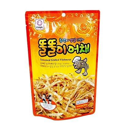 Carne de pescado coreana con parrilla de 1.06 oz: Amazon.com ...