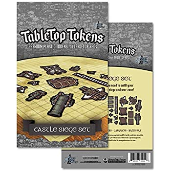 Amazon com: Tabletop Tokens: Camping Set: Toys & Games