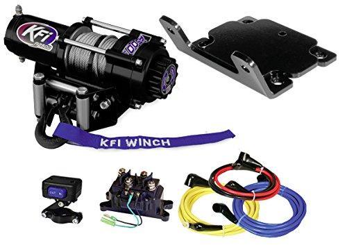 A 2003 Winch - KFI Combo Kit - A2500-R2 2500 lb Winch & Winch Mount - 2003-2014 Yamaha Kodiak 350/400/450