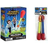 The Original Stomp Rocket Ultra with Ultra Refill Pack, 6 Rockets