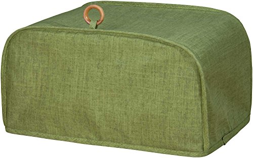 Classic Appliance Cover Toaster Oven - Green with Ring