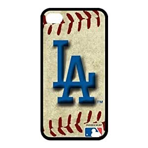 Customize MLB Los Angeles Dodgers Back Case for iphone 4,4S JN4S-1487