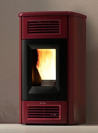 /70//150/m/³/ Pelletofen Punkt Feuer Susy Elfenbein Max 6/kW/ /guckt nur 23/cm