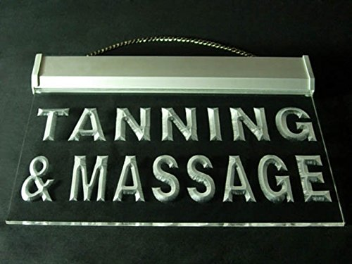 Tanning Massage Spa Body Care Display Led Light Sign