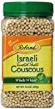 Roland Israeli Couscous, Whole Wheat, 10.5 Ounce (Pack of 6)