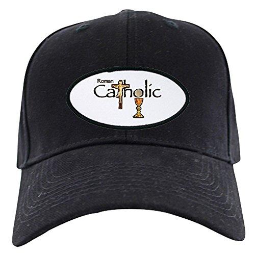 CafePress - Proud To Be Catholic - Baseball Hat, Novelty Black Cap
