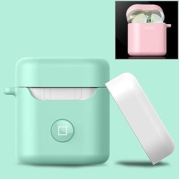 CHENCHUAN auriculares de carga caja protectora de la caja Angibabe ...