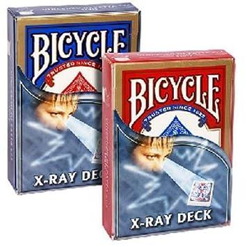 SOLOMAGIA Bicycle - X-ray deck - blue back - Tarjeta Juegos ...