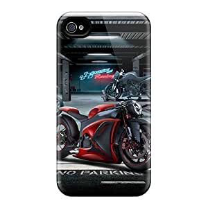 THYde For WxxyUax4wgRxw Custom Motor Bike Protective Case Cover Skin/ipod Touch4 Case Cover ending