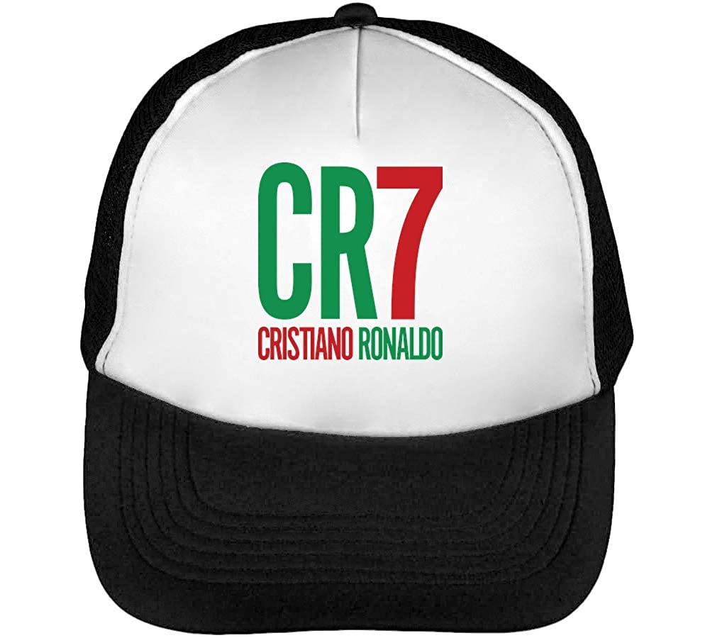 CR7 Cristiano Ronaldo Gorras Hombre Snapback Beisbol Negro Blanco ...