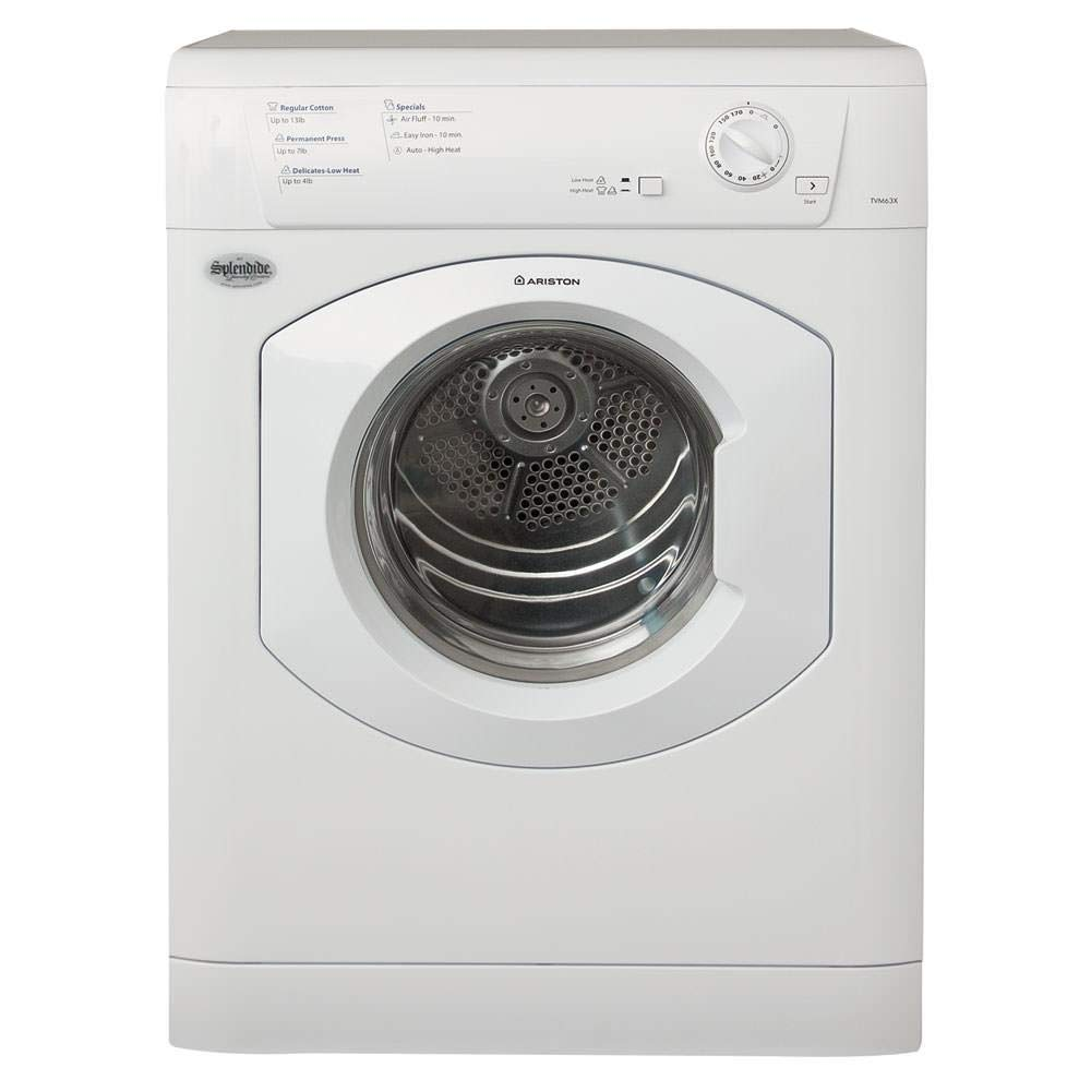 B001FCBA0Q Westland Sales TVM63XNA Splendide 120V Stackable Dryer 51jA8mNi00L._SL1000_