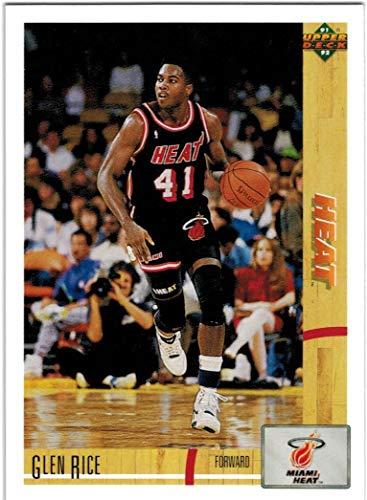 1991-92 Upper Deck Miami Heat Team Set with Glen Rice & 2 Steve Smith RC - 17 NBA Cards