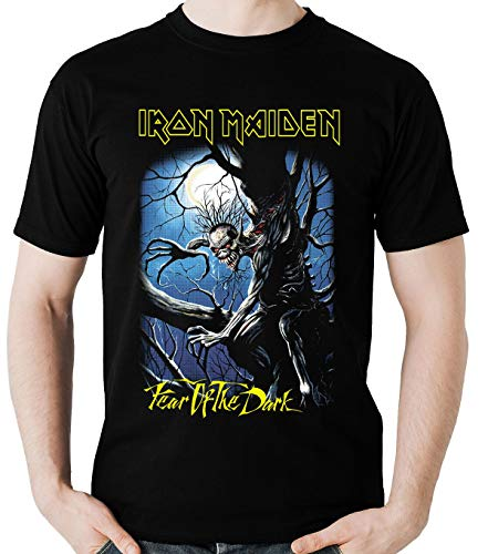 Camiseta Iron Maiden Fear of theDark Camisa banda Rock Blusa