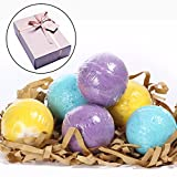 Image of Lush Bath Bombs Gift Set 6 Organically Essential Oil Handmade Spa Fizzies, Therapy Bath