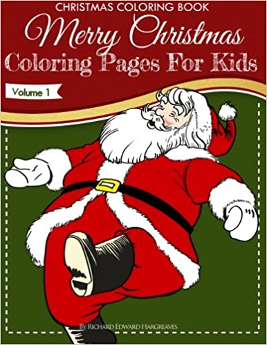 Christmas Coloring Book  Merry Christmas Coloring Pages For Kids