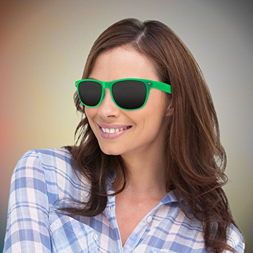 Green Retro Sunglasses-12 - Sunglasses Scheme