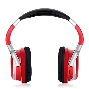 Auriculares inalámbricos Bluetooth,más ruido en el oído Auriculares Hi-Fi estéreo Concelling,