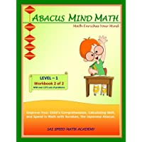 Abacus Mind Math Level 1 Workbook 2 of 2: Excel at Mind Math with Soroban, a Japanese Abacus