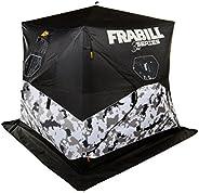 Frabill Bro Hub Top & Sides Insulated 2 - 3 Man Snow Camo She
