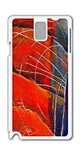 TUTU158600 High Quality Diy case Of Watercolor customized Bumper Plastic note 3 N9000 case - Abstract Guitar